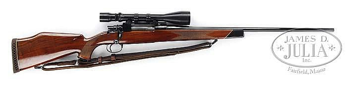 *RARE WEATHERBY SOUTH GATE RIFLE ON MAUSER ACTION.