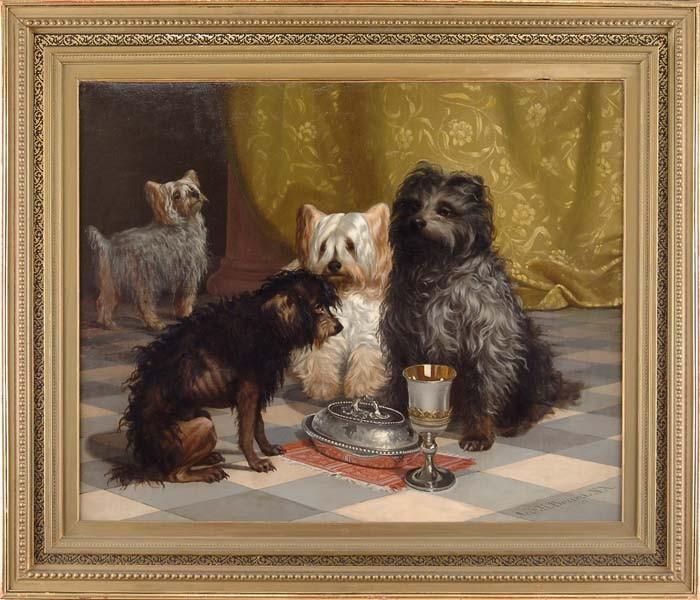 JAMES HENRY BEARD (American, 1811-1893) POOR RELATIVE