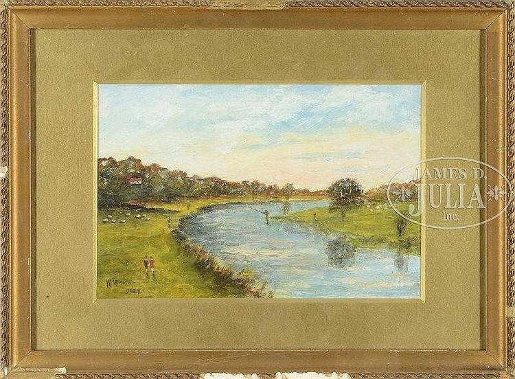 WALTER WRIGHT (English, 1866-1933)