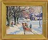 THOMAS R CURTIN (American, 1899-1977) MAPLE SUGARING., Thomas R Curtin, $1,000