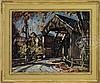 WILLIAM LESTER STEVENS (American, 1888-1969) DAPPLED LIGHT ON THE CONWAY BRIDGE., William Lester Stevens, $2,500