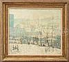 ERNEST LAWSON (American, 1873-1939) NEW YORK FARM IN WINTER., Ernest Lawson, $10,000