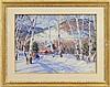 JOHN WHORF (American, 1903-1959) BIRCHES IN WINTER, WHITE RIVER JUNCTION, VT., John Whorf, $1,500