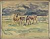 KNUD CARL EDVARD KYHN (Danish, 1880-1969) THREE WORKS ON PAPER., Knud Kyhn, $250