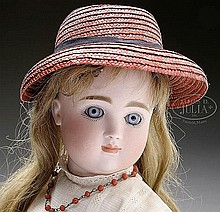 CLOSED MOUTH GERMAN DOLL ATTRIBUTED TO KESTNER.