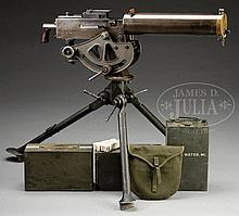 VERY ATTRACTIVE ORIGINAL WESTINGHOUSE BROWNING MODEL 1917 WATER-COOLED MACHINE GUN AS REGISTERED BY DLO WITH TRIPOD AND ACCESSORIES. (FULLY TRANSFERABLE).