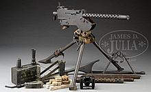 EXTREMELY FINE CATCO REGISTERED SIDE PLATE BROWNING 1919 A4 MACHINE GUN ON COLT COMMERCIAL TRIPOD WITH NUMEROUS ACCESSORIES (FULLY TRANSFERABLE).