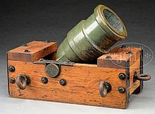 EXTREMELY FINE AND RARE CYRUS ALGER CIVIL WAR 24-POUND COEHORN MORTAR.