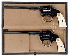 EXTRAORDINARY PAIR OF FULL SCALE EXACT REPRODUCTIONS OF SMITH & WESSON 3RD MODEL