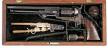 ARCHIVE OF UNION GENERAL HENRY L. ABBOTT INCLUDING HIS SPECIAL CASED MARTIAL COLT NAVY REVOLVER HE CARRIED THROUGH THE ENTIRE CIVIL WAR.
