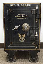 ANTIQUE 1906 HALL'S SAFE CO, CINCINNATI, OH