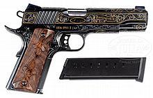 TRULY SPECTACULAR REMINGTON BICENTENNIAL THREE GUN SET COMMEMORATING REMINGTON'S 200 YEARS IN BUSINESS.