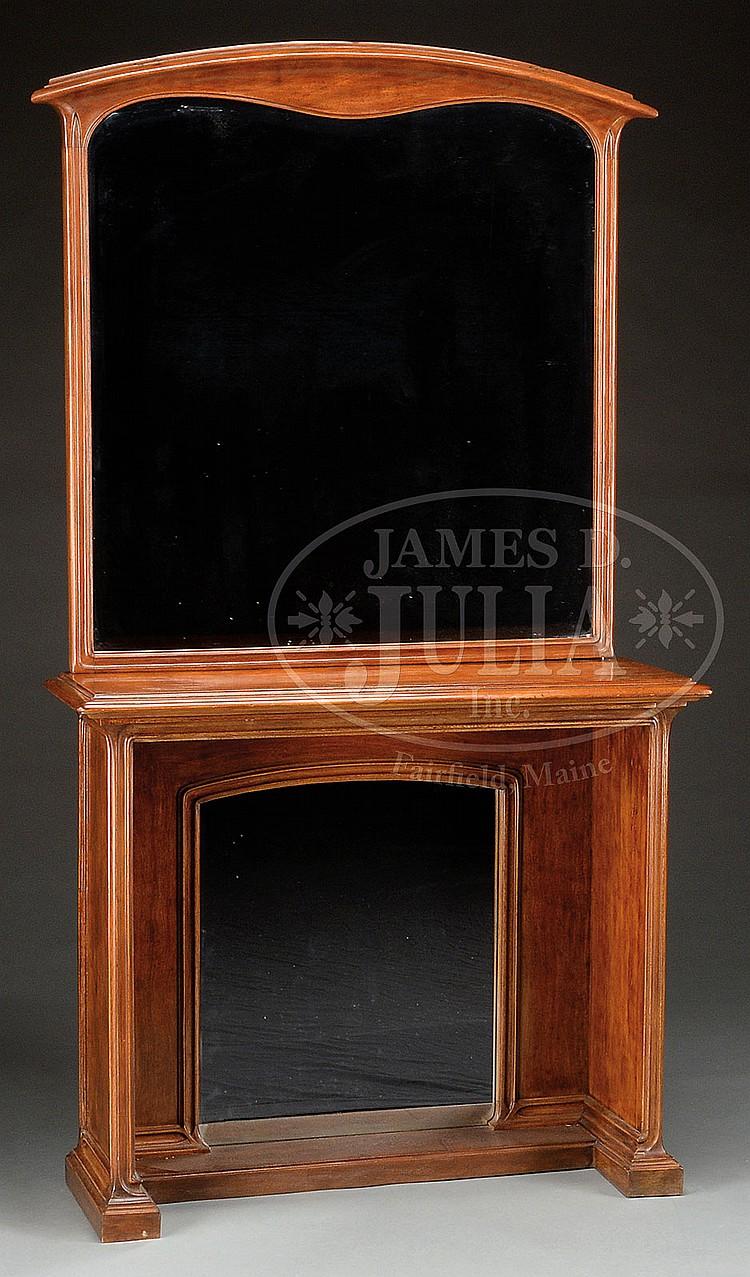 majorelle art nouveau mirror and console. Black Bedroom Furniture Sets. Home Design Ideas