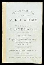WINCHESTER REPEATING FIREARMS CATALOG, MAY 1878.