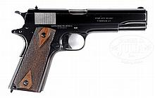 COLT 1911 COMMERCIAL GOVERNMENT MODEL MADE IN 1919 IN MOSTLY ORIGINAL CONDITION.
