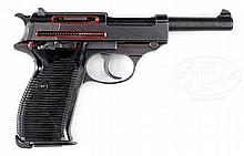 UNIQUE WALTHER WWII GERMAN CUTAWAY P.38 9MM PISTOL.