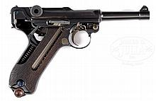RARE AND UNUSUAL DWM P.08 CUTAWAY COMMERCIAL 9MM LUGER PISTOL.