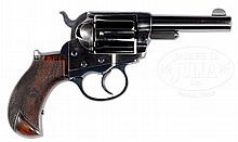 FINE COLT 1877 LIGHTNING .38 REVOLVER WITH ONE PIECE GRIPS.