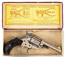STELLAR CONDITION COLT 1877 LIGHTNING REVOLVER WITH PICTURE BOX.