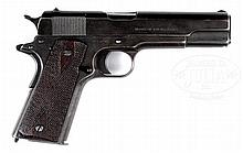 RARE AND UNIQUE COLT MODEL 1911 SEMI-AUTOMATIC PISTOL FROM THE COLLECTION OF RENOWNED AUTHOR AND FIREARMS EXPERT CHARLES W. CLAWSON.