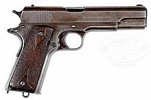 COLT 1911 NAVY MARKED PISTOL SHIPPED AUGUST 16, 1913 WITH FACTORY LETTER.