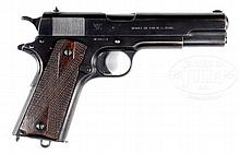 RARE SPRINGFIELD ARMORY 1911 AUTO CAL .45 MADE IN 1914 IN NEAR ORIGINAL CONDITION.