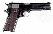 SCARCE AND DESIRABLE WWI BRITISH MILITARY CONTRACT COLT GOVERNMENT MODEL .455 PISTOL.