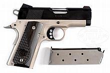 EXTREMELY FINE AND RARE COLT TALO MODEL NIGHT DEFENDER .45 PISTOL IN BOX.