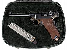 OUTSTANDING CASED PRESENTATION DWM 1902 LUGER.