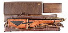 EXPANSIVE LOT OF GUN CASES, BOTH HARD AND SOFT.