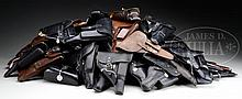 COLLECTOR'S LOT OF 51 P.38 STYLE HOLSTERS.