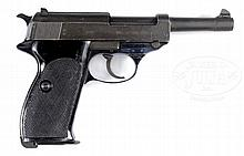SCARCE WALTHER WEST GERMAN MILITARY ISSUED P38 9MM PISTOL.