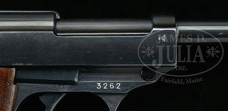 INCREDIBLY RARE WALTHER P38 PISTOL, MOD  HP, CAL 7 65MM, SI