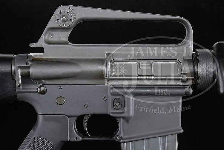 HIGH ORIGINAL CONDITION COLT M16A1 CHROME BORE MACHINE GUN