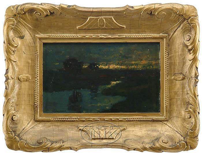 HUGH HUNTINGTON HOWARD (American, 1860-1927) LATE EVENING SUNSET