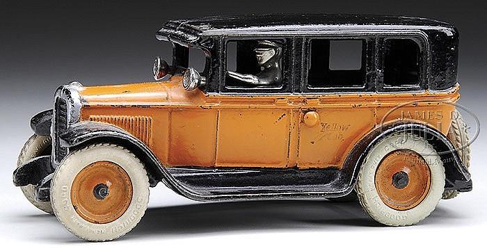 ARCADE FLAT TOP YELLOW CAB.