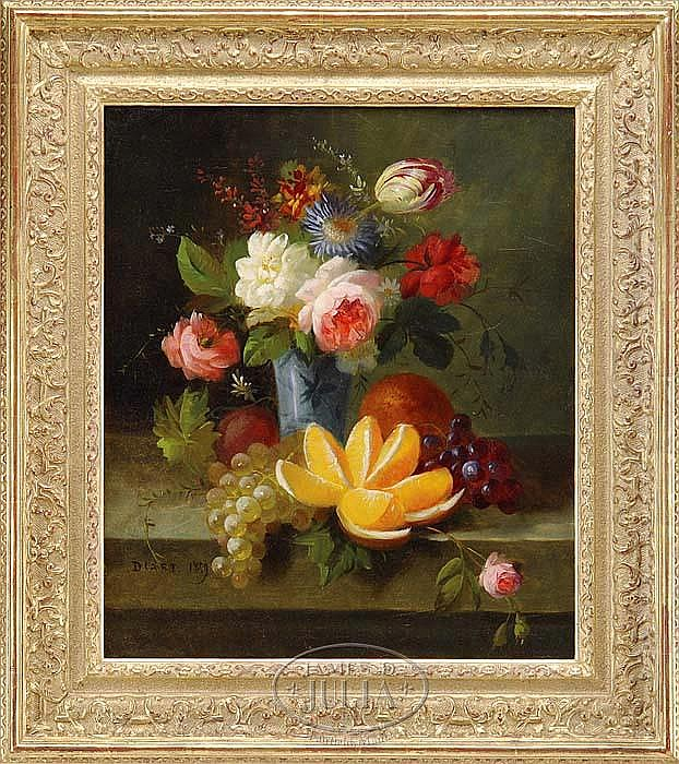 JULES EDOUARD DIART (French 1840-1890) STILL