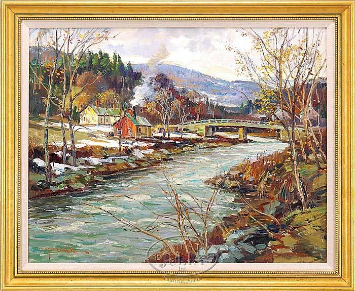 WAYNE BEAM MORRELL (American 1923-)