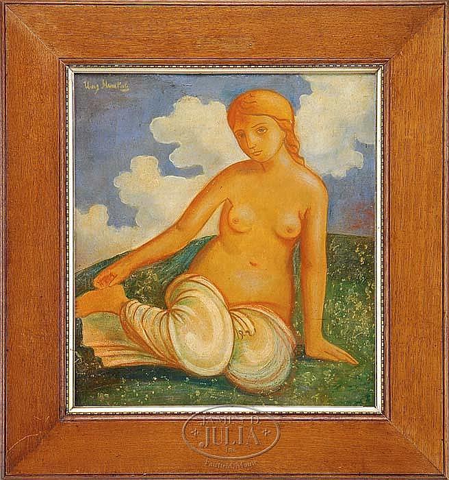ILYA MASHKOV (Russian 1881-1944) NUDE IN