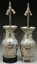 PAIR OF CHINESE EXPORT VASES.