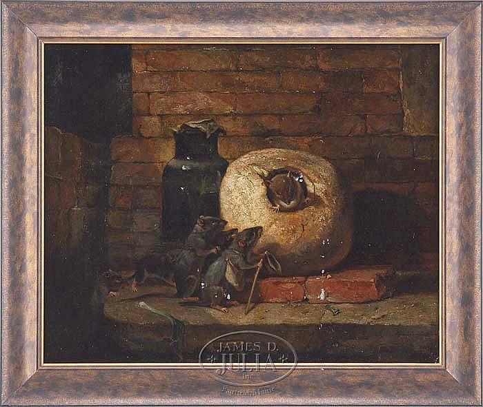 ALFRED BRYANT COPELAND (American/French, 1840-1909) ADVENTURE BOUND.
