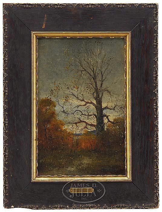 ARTHUR S. CUMMING (American, 1847-1913) OCTOBER AFTERNOON.