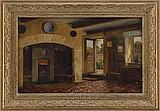 "JULIAS AAGAARD (1847-1926) ""THE MANOR COTTAGE, CARLTON""."