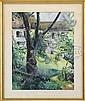 NILES SPENCER (American, 1893-1952) BACKYARD PATH., Niles Spencer, Click for value