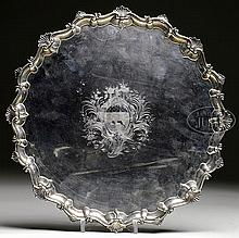 EXCEPTIONALLY FINE AND LARGE LONDON STERLING SALVER.