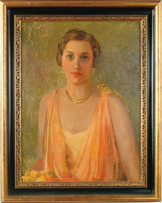 CHARLES SHEPARD CHAPMAN (American, 1879-1962) ORANGE AND GOLD