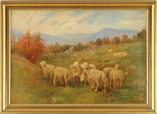 "JOSEPHINE ELIZABETH WYMAN BRADSTREET (American, 1859-1920) ""CENTER LOVELL"""