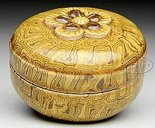 PORCELAIN INCENSE BOX.