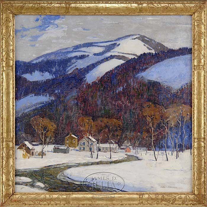 CARL E. LAWLESS (American 1894-1934) BLUE