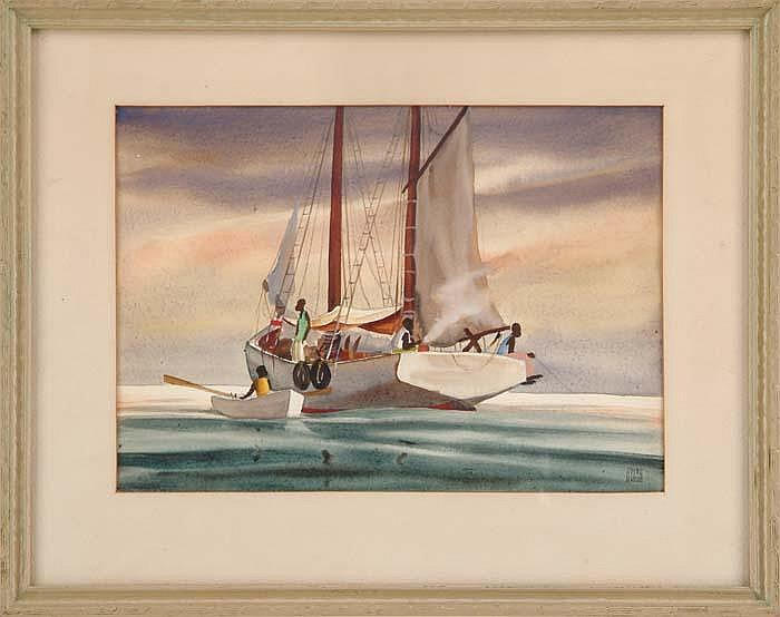 AVERY FISCHER JOHNSON (American, 1906-1990)